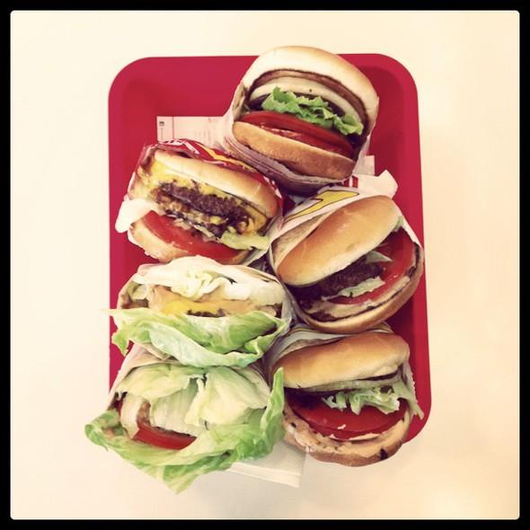 world class #burgerfest dinner @ In-N-Out Burger