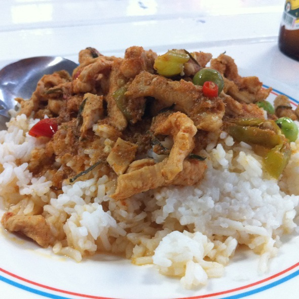 Red Curry with Chicken @ Food Plaza @ UD Town