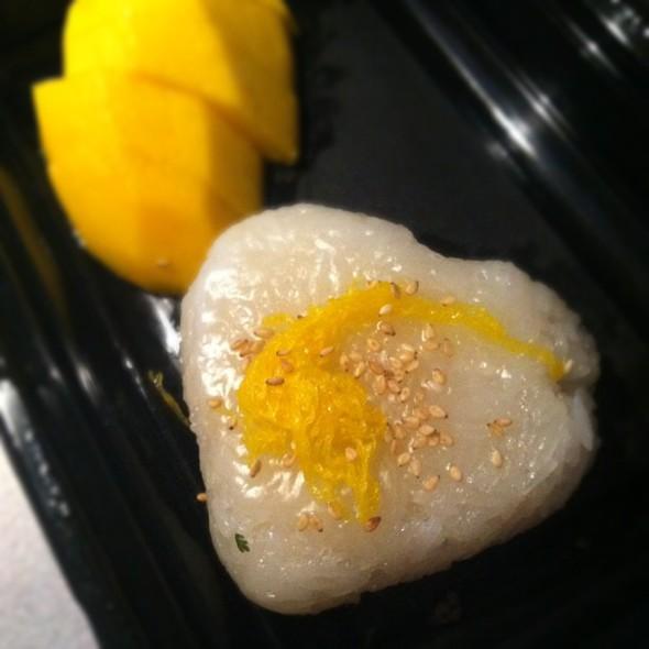 mango sticky rice  #love @ Thai Satay Restaurant