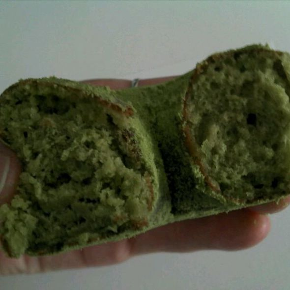 Powdered Greentea Donut @ Regal Bakery