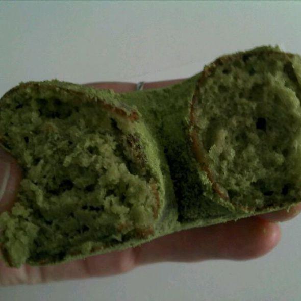 Powdered Greentea Donut @ Regal Bakery