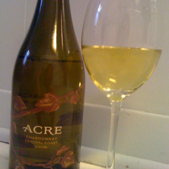 Acre Chardonnay 2008 @ Marcello's Wine Market