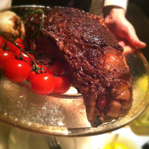 Ribeye Steak @ 8 1/2 Otto E Mezzo Bombana
