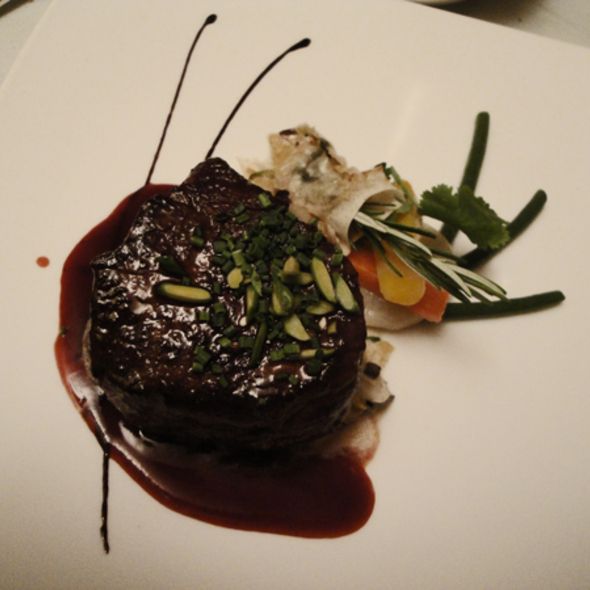 Beef Filet  @ Le Guillaume Tell
