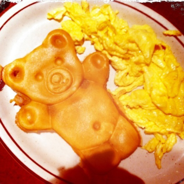 Waffle Breakfast Bear @ Bob's Big Boy