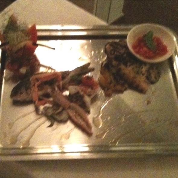 Grigliata Mista Di Pesce Con Crostacei E Molluschi