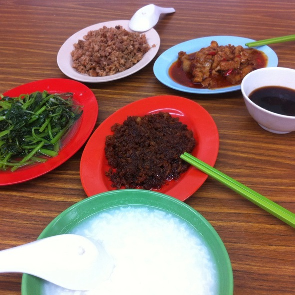 Teow Chew Porridge @ Havelock Porridge