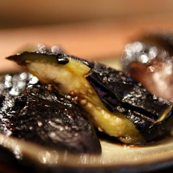 Grilled Eggplant - Inakaya, New York, NY