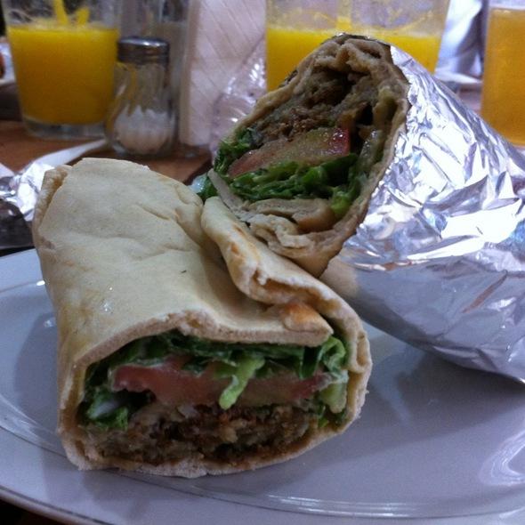 Vegetarian Burrito @ Restaurante Beirut Libano