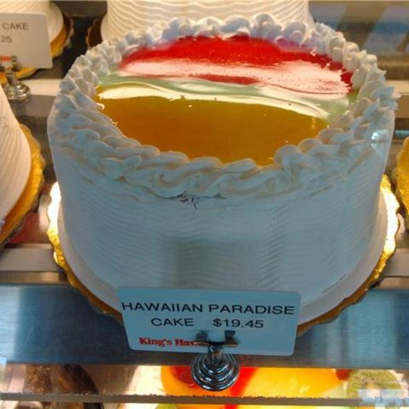 Hawaiian Paradise Cake @ Kings Hawaiian the Local Place