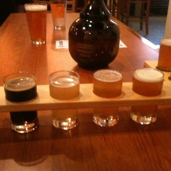 Beer Flight @ Eagle Rock Brewery