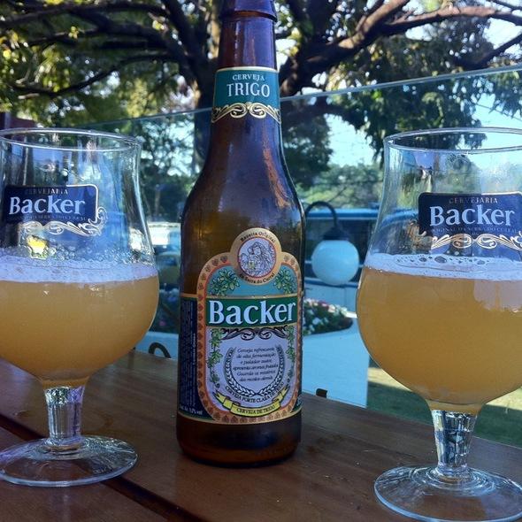 Backer Beer Trigo  @ Jucelino Deck Beer