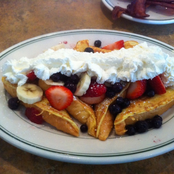 Triple Fruit French Toast @ Mukilteo's Speedway Cafe