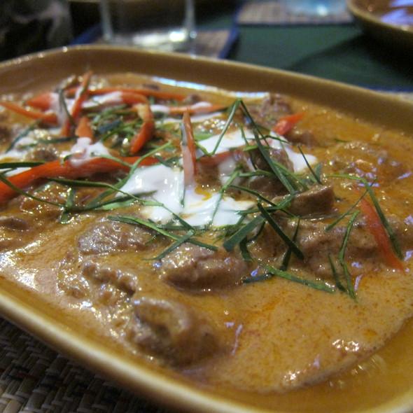 Beef Penang Curry @ Irish Clock