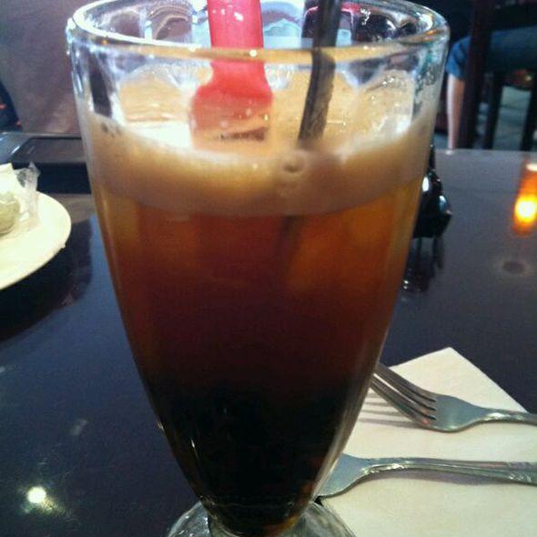Peach Black Bubble Tea @ Teariffic Cafe