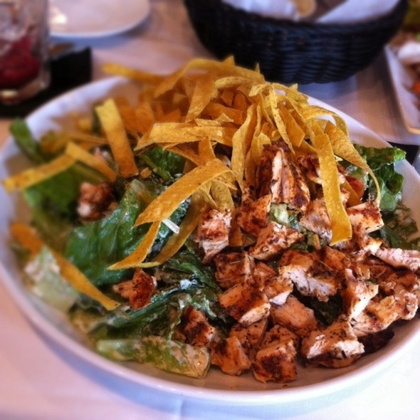 Southwestern Salad With Chicken - Truffles Cafe - Belfair, Bluffton, SC