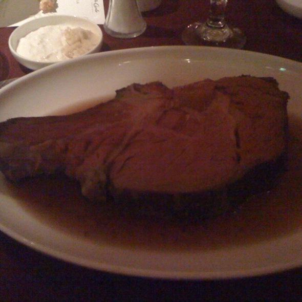 The Beef Eater Prime Rib - The Prime Rib Loft - Orleans Hotel & Casino, Las Vegas, NV