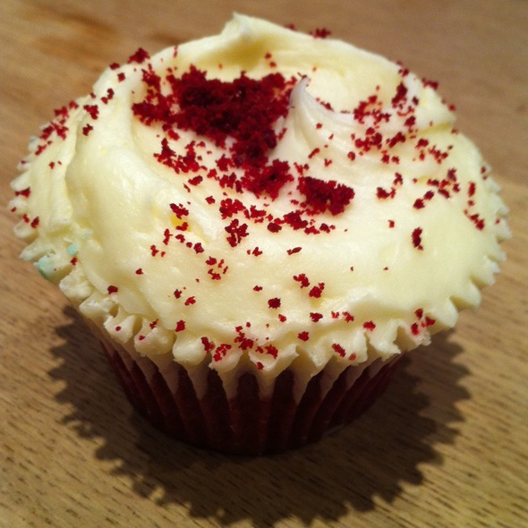 Red Velvet Cupcake @ Hummingbird