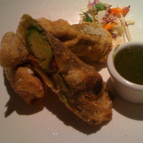 avocado egg rolls @ Kona Grill