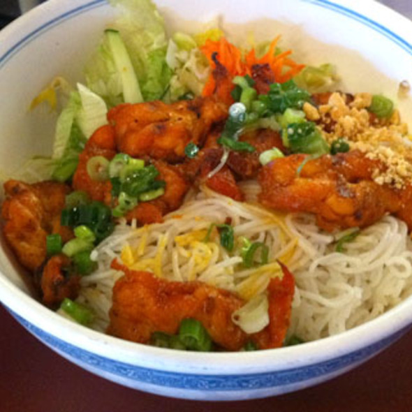 Grilled Shrimp Noodle Bowl
