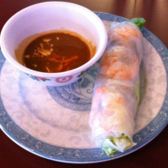 Pork and Shrimp Spring Roll