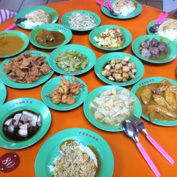 中国街 Curry Rice @ Maxwell Food Centre