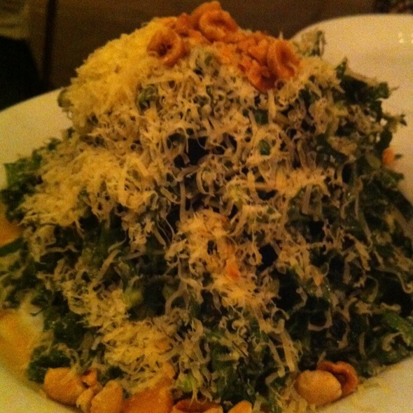 Black Kale Salad @ Five Leaves NY