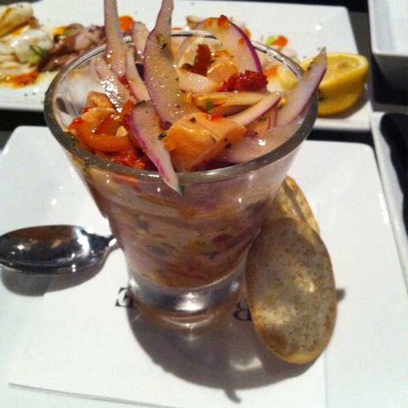 Ceviche @ Barcode Restaurant, Bar & Lounge