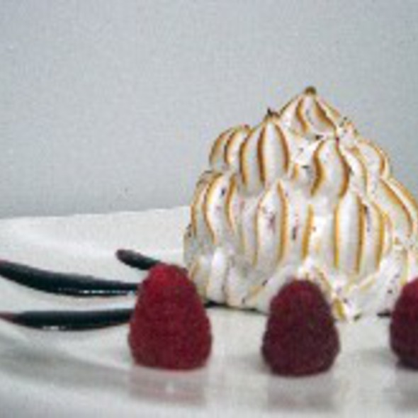 Baked Alaska with Glastry Farm Ice Cream @ The Restaurant @ Donnybrook Fair