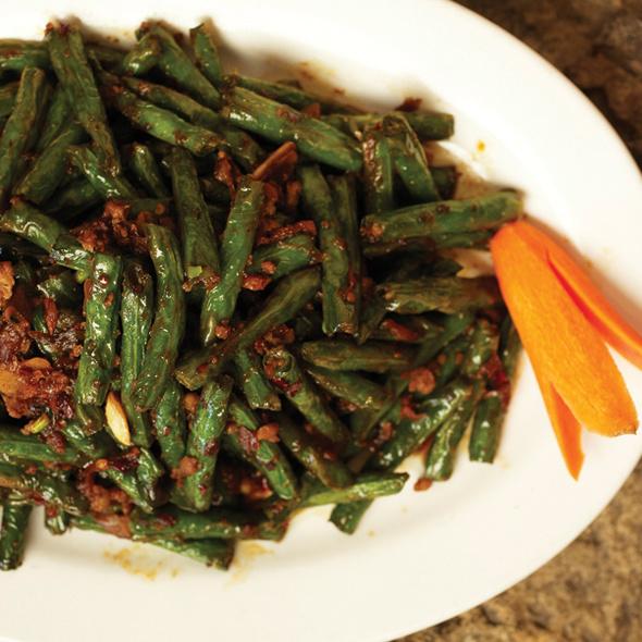 Firecracker Green Beans @ Mandarin House