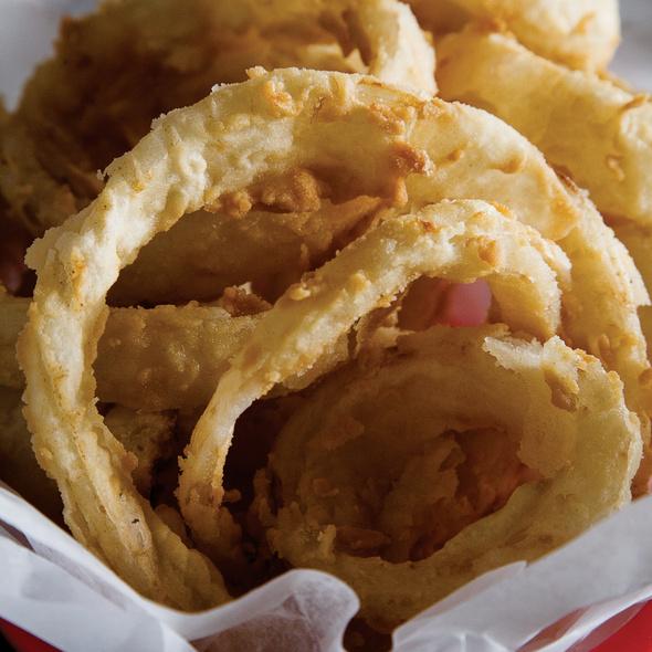 Onion Rings @ Village Bar The