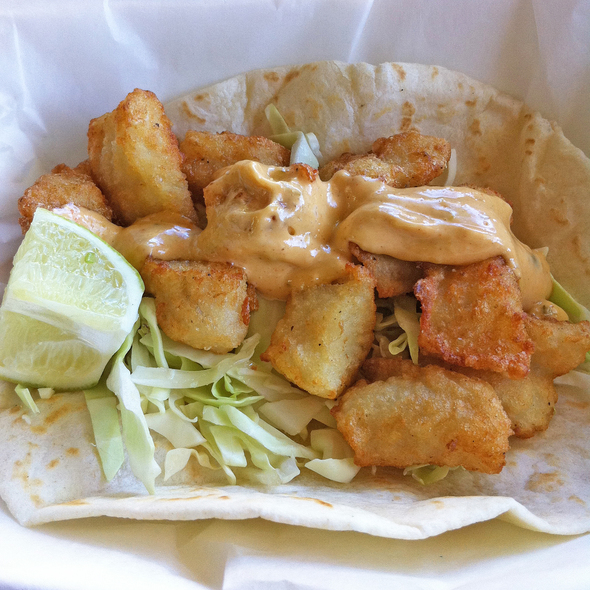 Fish Taco @ Sanchos Taqueria