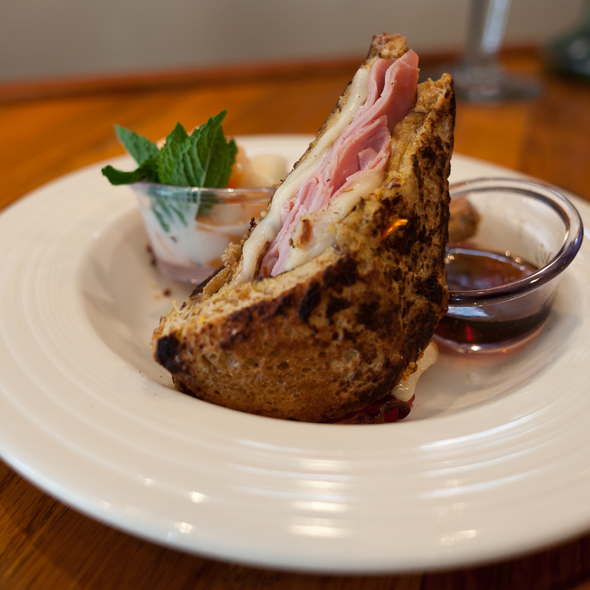 Monte Cristo Sandwich @ The Pharmacy