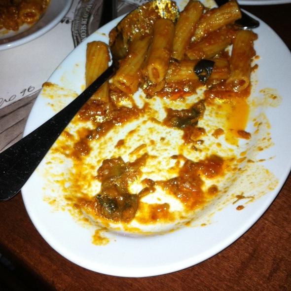 Rigatoni Melanzana @ Acqua Al 2 Restaurant