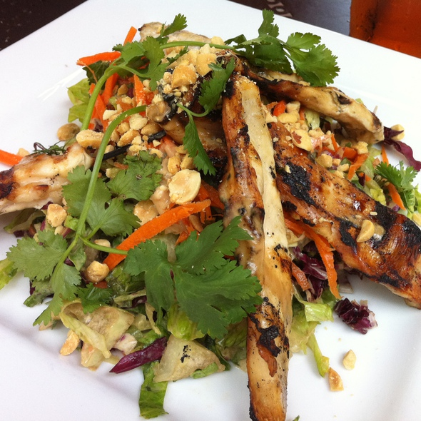 Chicken Satay Salad @ Alcove Cafe & Bakery