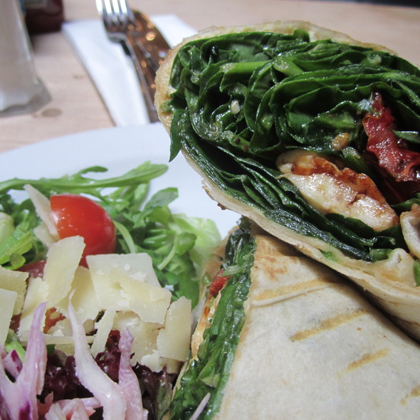 Halloumi Wrap @ Breakfast Club, The