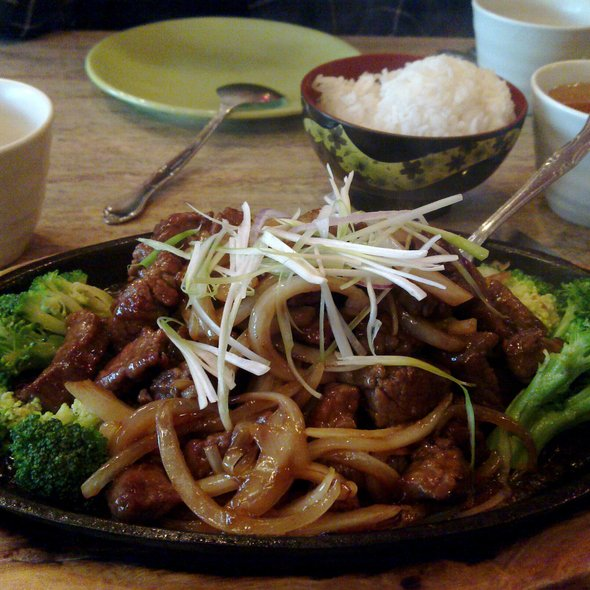 Szechuan Beef @ Green Papaya
