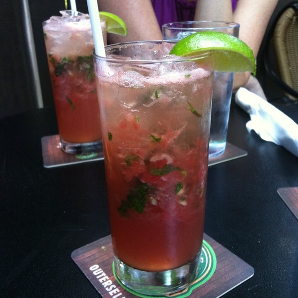 watermelon mohito @ Duke Of York