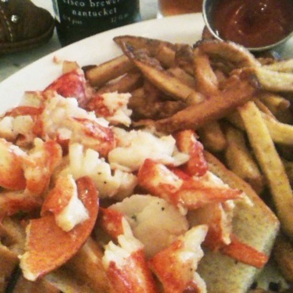 Hot Lobster Roll @ Neptune Oyster