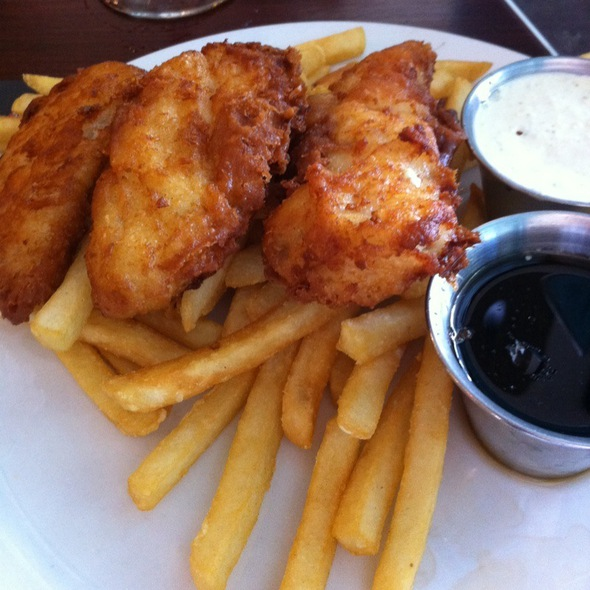 Fish and Chips @ Pacific Coast Brewing Co