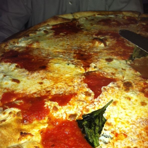 Margarita Pizza - Fratelli Brick Oven Pizza & Wine Bar, New York, NY