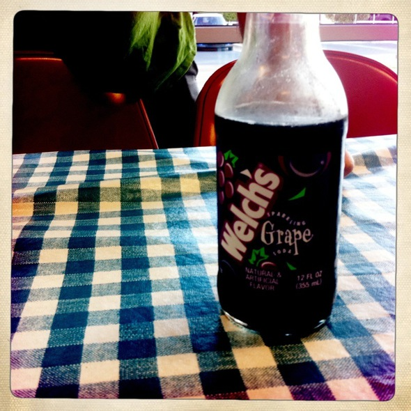 Grape Soda @ Mighty Fine Burgers