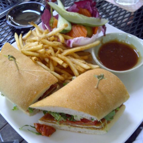 Chicken Katsu Sandwich @ Carte Blanche (Hotel Gansevoort)