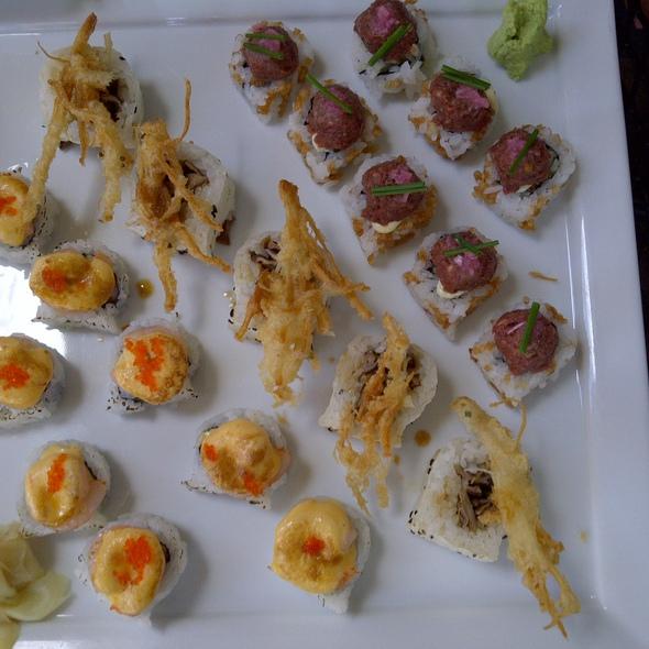 Assorted Sushi Rolls  @ Tanuki Tavern