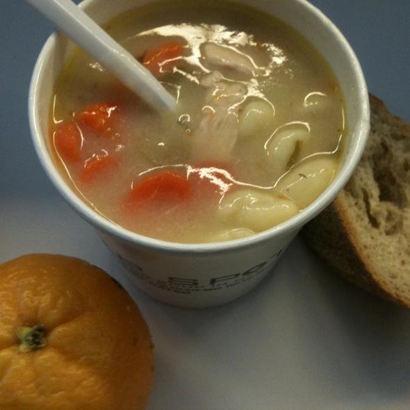 Chicken & Dumpling Soup @ The Soup Spot