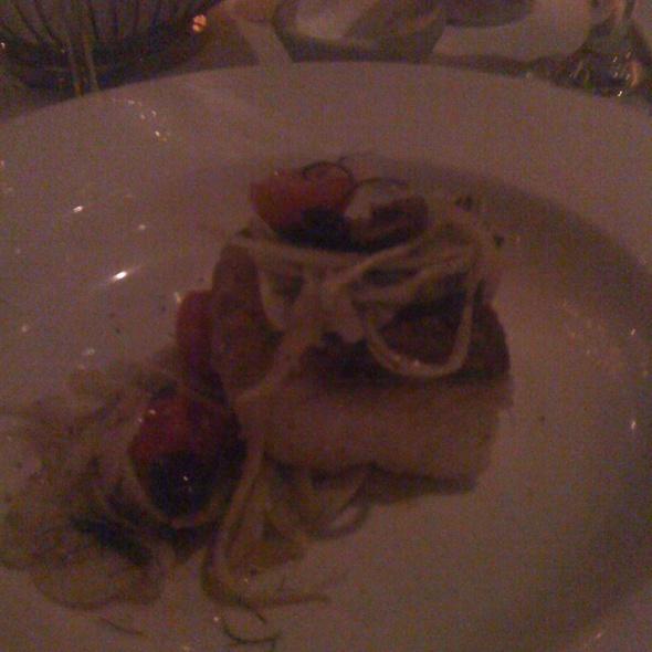 Black Cod W Warm Fennel Olive And Tomato Salad - Mill's Tavern, Providence, RI