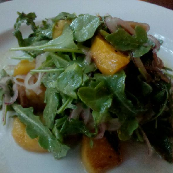 Crispy Pork Belly Salad  @ de Vere's Irish Pub