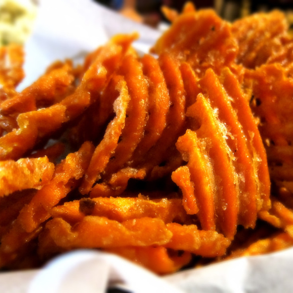 Sweet Potatoes Fries @ Gussie's Chicken & Waffle