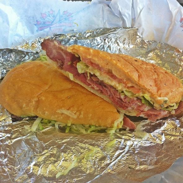 Pastrami Sandwich @ Great American Hero Inc: Downtown