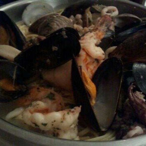 Seafood Linguine - Amalfi Ristorante Italiano, Rockville, MD